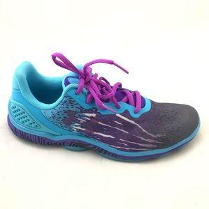 UNDER ARMOUR Blue Purple Micro G Sting TR Shoe 8.5